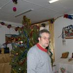 Der Weihnachtsbaum steht noch