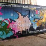 Unser Container - Kunstwerk -