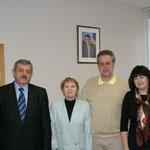 Wir haben den 2.Bürgermeister vom Wohnbezirk besucht und haben einen verbündeten für Tamar gewonnen!