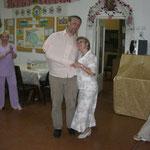 Tamara und ich beim tanzen.