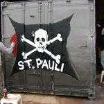 Der FC ST.PAULI ist auch, dank Heiko mit am Start.