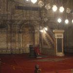 Lehrstuhl und Kanzel in der Alabaster-Moschee