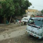 Eselskarren befahren auch die Straßen von Kairo
