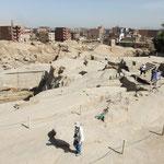 Unvollendeter Obelisk und unvollendete Bauten in Assuan