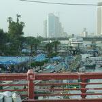 Nilpromenade und Skyline