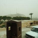 Parkplatz an der Zitadelle Salah al-Din