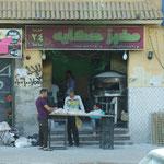 Bäckerei und Verkauf