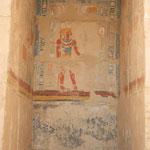 Farbiger Raum im Hatschepsut-Tempel, Theben West
