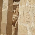 Die wunderbare Hathor im Hatschepsut-Tempel