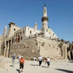 Luxor-Tempel mit später eingebauter Moschee