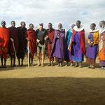 Besuch eines Massai Dorfes (1.600 m)