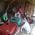 Im Massai Dorf