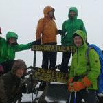 Gipfelerfolg am Mt. Meru 4.562 m. Herzlichen Glückwunsch