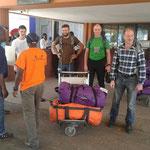 Ankunft am Kilimanjaro Airport