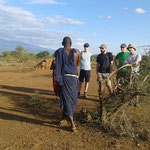 Die Massai geben einen Einblick in deren Leben.