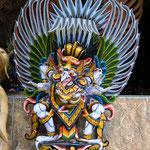 Mythischer Garuda Vogel - Der halb als Mensch und halb als Adler gestaltete Garuda gilt in vielen asiatischen Ländern als Götterbote und Schlangentöter