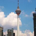 KL Tower (Menara Kuala Lumpur Tower) - 421 Meter hoch