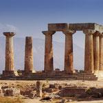 Tempel des Zeus in Nemea - ca. 35 Km von Korinth