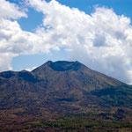 Gunung Agung.- der größte aktive Vulkan der Insel - ca. 3142 Meter hoch
