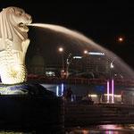 Merlion - Wahrzeichen von Singapur