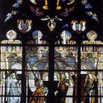 французский витраж, XIV век