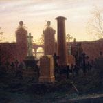 Фридрих, Каспар Давид (Kaspar David Fridrih) - Кладбище (Kügelgens Grab) (1821-22)