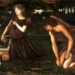 edward coley burne-jones- Cupids Forge