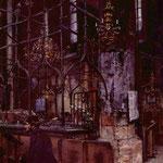 Менцель Адольф Фридрих (Adolph Friedrich Erdmann von Menzel) – Старая синагога в Праге (Old synagogue at Prague) 1866