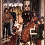 Боутс Дирк (Dirk Bouts)  Испытание огнем графини перед Оттоном III (The Ordeal by Fire) 1470