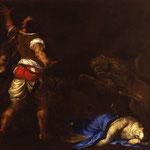 Кайро, Франческо (Francesco Cairo) -  Мученичество святого Эвфемия (The Martyrdom of Saint Euphemia), середина XVII века