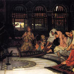 джон уильям уотерхаус - Вопрошание оракула, 1884