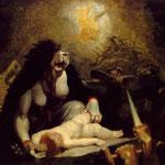 Фюссли, Иоганн Генрих – Визит ночной ведьмы (The Night-Hag Visiting the Lapland Witches), 1796