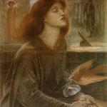 dante gabriel rossetti - Beata Beatrix, 1872