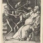 Альдгревер, Генрих (Heinrich Alidegrever) – цикл «Пляска смерти» (Dance macabre), 1541