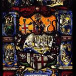 витраж епископа Кристофера Метцлера, 1565