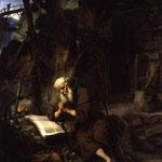 Экхот, Гербранд ван ден (Gerbrand van den Eeckhout) – Молящийся отшельник (A Hermit praying), середина XVII века