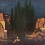 Беклин Арнольд (Arnold Böcklin) Остров мертвых (The island of the dead Sun) 1880