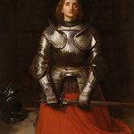 john everett millias - Joan of Arc, 1865