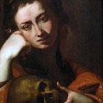 Джузеппе Рибера - Магдалена с черепом