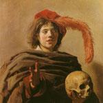 Франс Халс - юноша с черепом