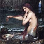 джон уильям уотерхаус - Русалка, 1901