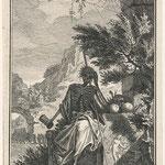 Фокк, Симон (Simon Fokke) – Смерть (The Death), XVIII век