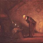 Шпицвег Карл (Carl Spitzweg) – Алхимик (An Alchemist) 1860