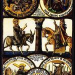 витраж Якоба Мингера, 1684