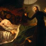 Гойя, Франсиско  - Св.Франциск Борджа помогает умирающему, 1788