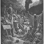 Доре, Гюстав – Пришествие Иезекиля в долину мертвых (Ezekiel's Vision of the Valley of Dry Bones)