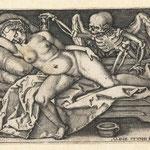 Бехам, Ханс Себальд – цикл «Пляски смерти» (Dance macabre), середина XVI века