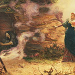Неизвестный - визит к ведьме (A Visit to the Witch) 1882