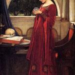 джон уильям уотерхаус - Хрустальный шар, 1902