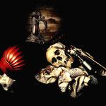Мокафико, Гвидо – Тщеславие с музыкальными инструментами (Vanitas et objets de musique), конец XX века